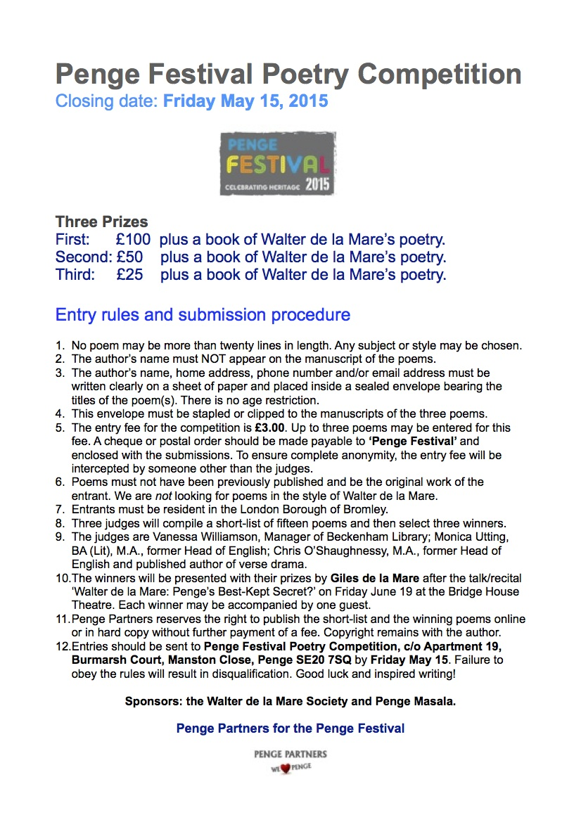 PF Poetry Comp Entry Rules
