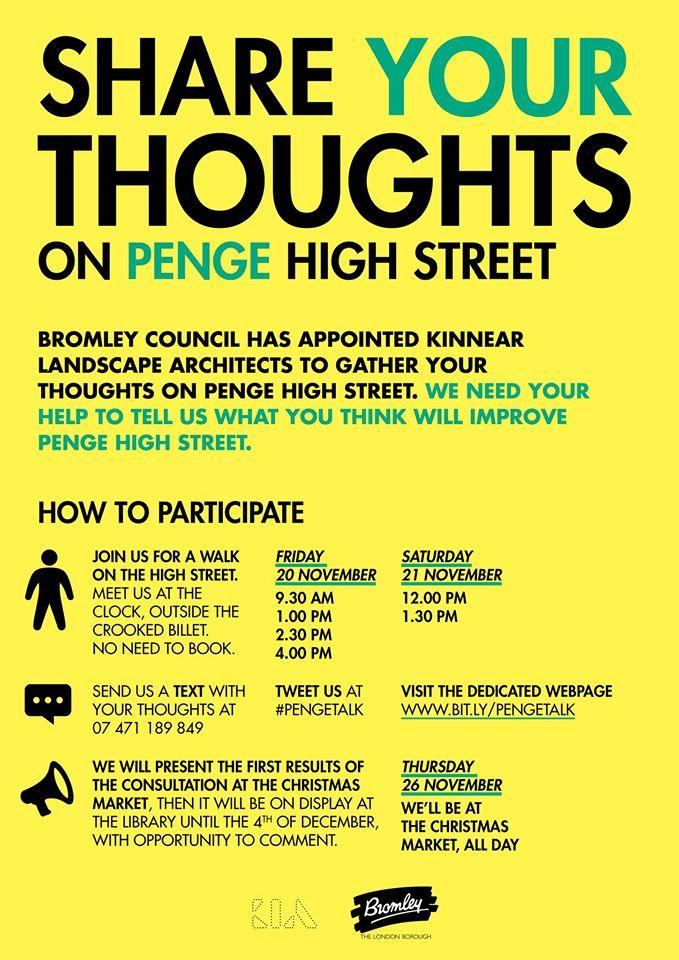 Penge High Street Consultation