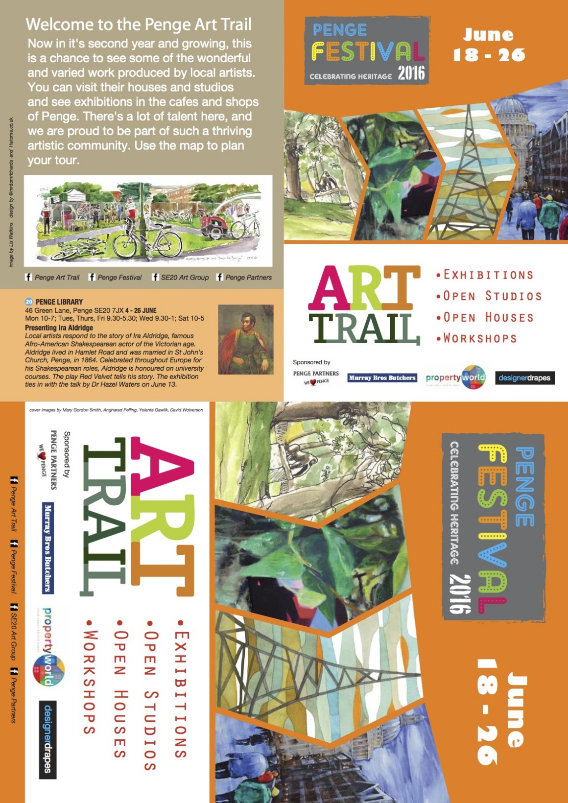 PF Penge Art Trail final front cover