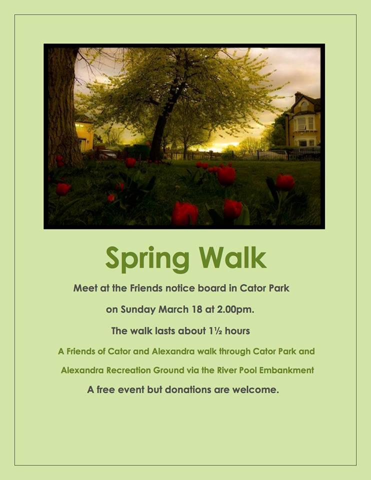spring walk 2018