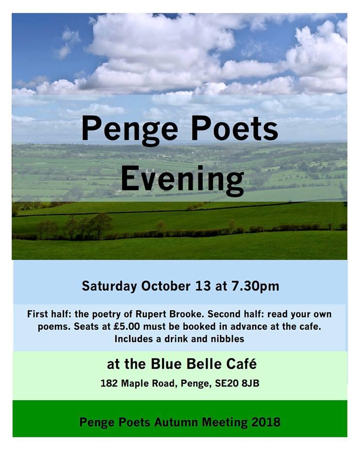 Penge poets evening