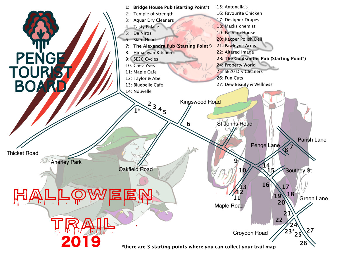 Halloween Map 2019
